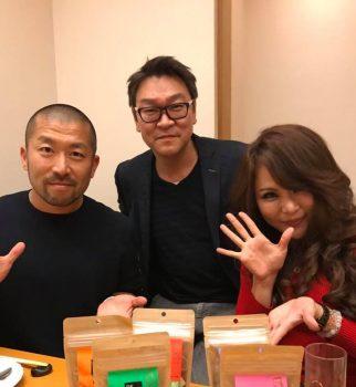 [右]美容家アゴラの吉岡先生・[左]ケツメイシ 大蔵さんと-1