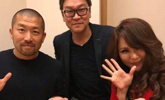 [右]美容家アゴラの吉岡先生・[左]ケツメイシ 大蔵さんと