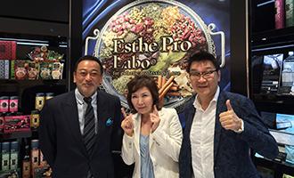 [左]アヴァンセ 小林光子社長・[中]クールエステティック 茂藤雅彦社長と-1