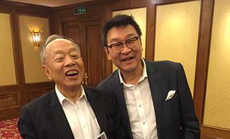 李肇星 前中国外務省大臣と-1